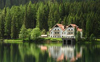 S�dtirol: Hotel Seehaus am Antholzer See